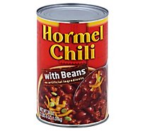 Hormel Chili with Beans - 40 Oz