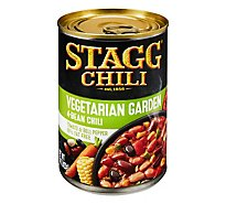 Stagg Chili With Beans Vegetable Garden Four-Bean 99% Fat Free - 15 Oz