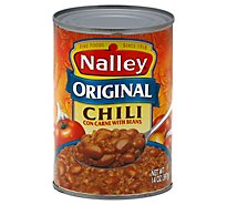 Nalley Chili Con Carne with Beans Original - 14 Oz