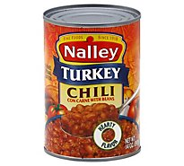 Nalley Chili Con Carne with Beans Turkey - 14 Oz