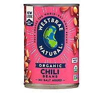 Westbrae Natural Organic Beans Chili Low Sodium Can - 15 Oz