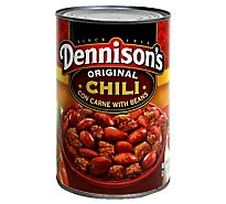 Dennisons Chili Con Carne with Beans Original - 40 Oz