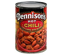 Dennisons Chili Con Carne with Beans Hot - 15 Oz