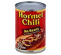 Hormel Chili No Beans - 10.5 Oz