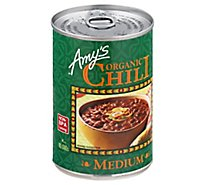 Amys Chili Organic Medium - 14.7 Oz