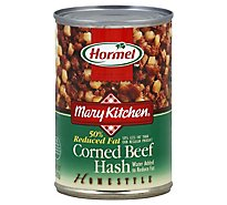 Hormel Mary Kitchen Corned Beef Hash Homestyle 50% Reduced Fat - 15 Oz