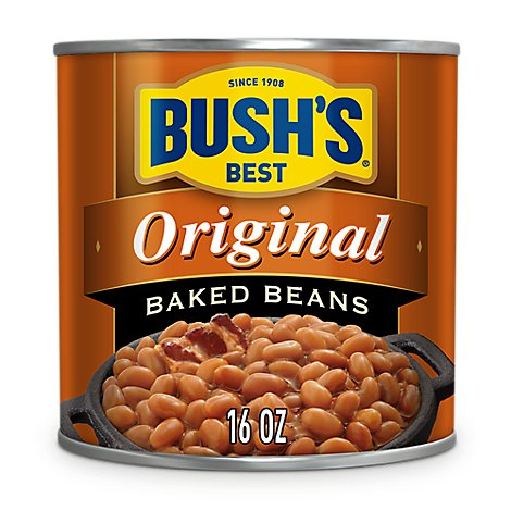 BUSHS BEST Beans Baked Original - 16 Oz