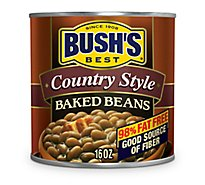BUSHS BEST Beans Baked Country Style - 16 Oz
