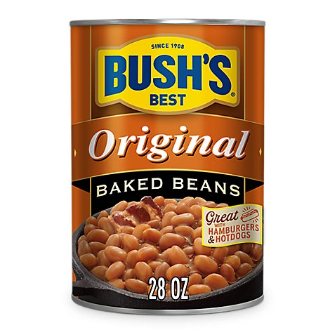 BUSHS BEST Beans Baked Original - 28 Oz