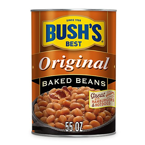 BUSHS BEST Beans Baked Original - 55 Oz