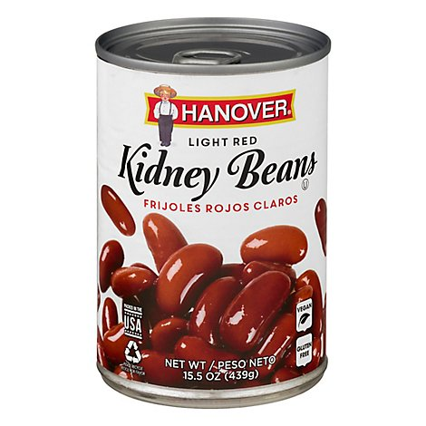 Hanover Beans Kidney Redskin Light Red - 15.5 Oz