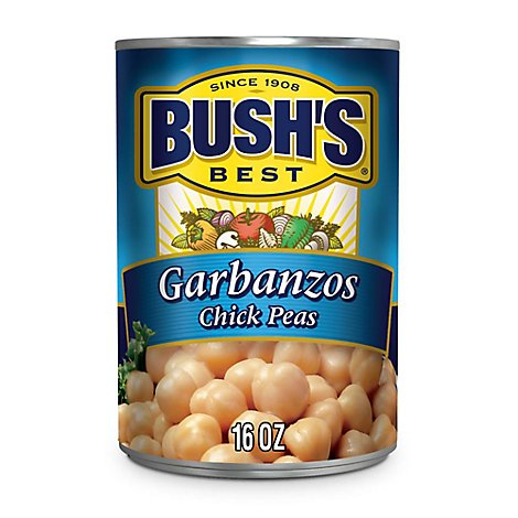 BUSHS BEST Chick Peas Garbanzos - 16 Oz
