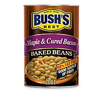 BUSHS BEST Beans Baked Maple Cured Bacon - 28 Oz