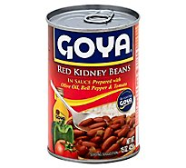 Goya Beans Red Kidney In Sauce Can - 15 Oz