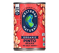 Westbrae Natural Organic Beans Pinto Low Sodium Can - 15 Oz