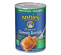 Annies Homegrown Organic Pasta Ravioli Cheesy in Tomato & Cheese Sauce - 15 Oz