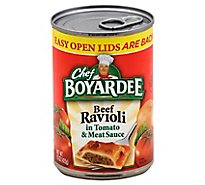 Chef Boyardee Pasta Ravioli Beef in Tomato and Meat Sauce - 15 Oz