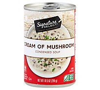 Signature SELECT/Kitchens Soup Condensed Cream of Mushroom - 10.5 Oz