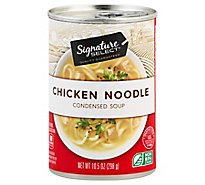 Signature SELECT Soup Condensed Chicken Noodle - 10.5 Oz