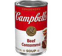 Campbells Soup Condensed Beef Consomme - 10.5 Oz