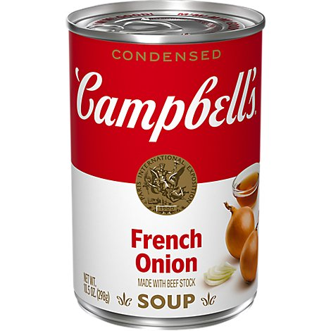 Campbells Soup Condensed French Onion - 10.5 Oz