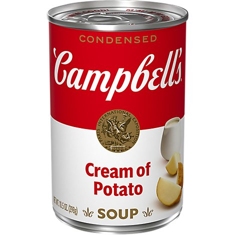 Campbells Soup Condensed Cream Of Potato - 10.5 Oz