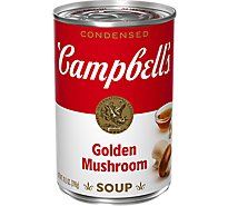 Campbells Soup Condensed Golden Mushroom - 10.5 Oz