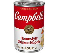 Campbells Soup Condensed Chicken Noodle Homestyle - 10.5 Oz