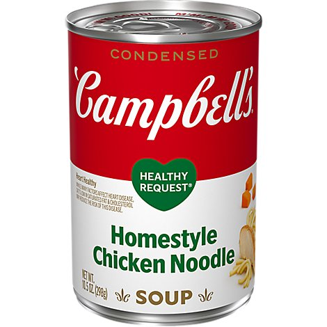 Campbells Healthy Request Soup Condensed Homestyle Chicken Noodle - 10.5 Oz