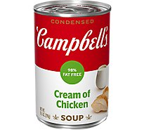 Campbells Soup Condensed Cream Of Chicken 98% Fat Free - 10.5 Oz