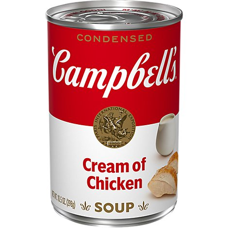 Campbells Soup Condensed Cream Of Chicken - 10.5 Oz