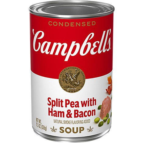 Campbells Soup Condensed Split Pea With Ham & Bacon - 11.5 Oz