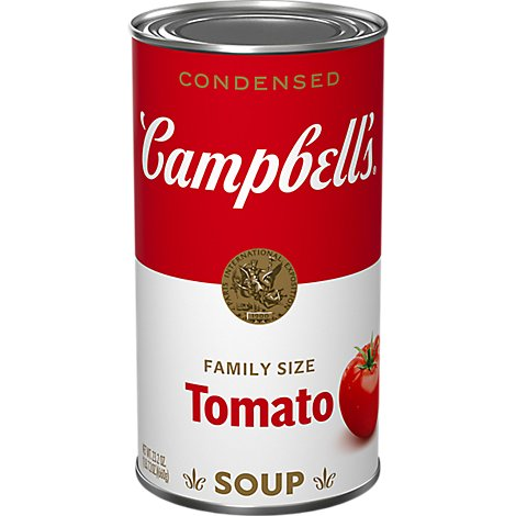 Campbells Soup Condensed Tomato Family Size - 26 Oz