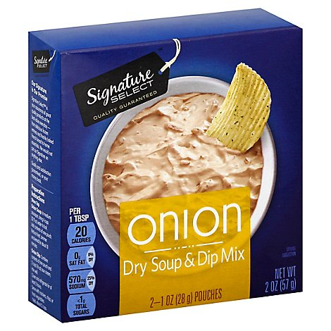 Signature SELECT Soup & Dip Mix Onion - 2-1 Oz
