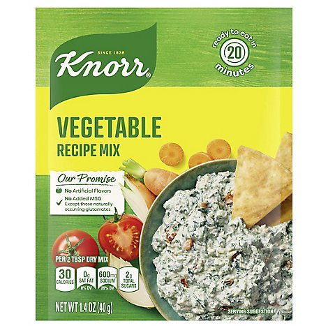 Knorr Recipe Mix Vegetable - 1.4 Oz
