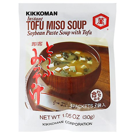 Kikkoman Soup Mix Tofu Miso - 1.05 Oz