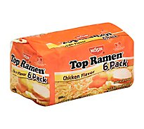 Nissin Top Ramen Ramen Noodle Soup Chicken Flavor - 6-3 Oz