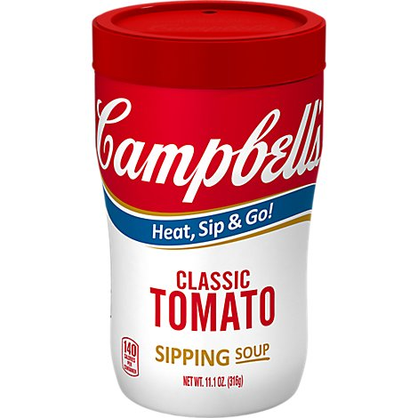 Campbells Soup Soup on the Go Classic Tomato Cup - 10.75 Oz