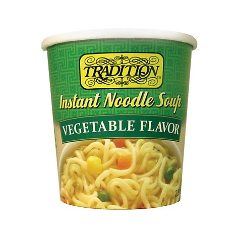 Tradition Vegetable Beef Noodle Instant Soup - 2.5 Oz