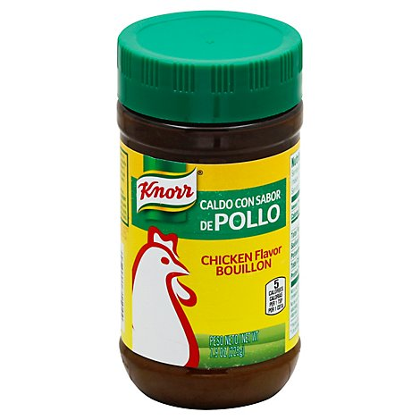 Knorr Bouillon Chicken Flavor Jar - 7.9 Oz