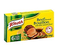 Knorr Bouillon Beef Flavor Extra Large Cubes 6 Count - 2.3 Oz