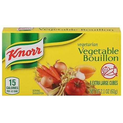 Knorr Bouillon Vegetable - 2.1 Oz