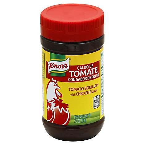 Knorr Bouillon Tomato With Chicken Flavor Jar - 7.9 Oz