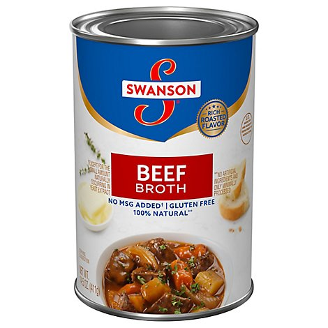 Swanson Broth Beef - 14.5 Oz