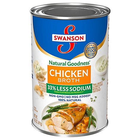 Swanson Natural Goodness Broth Chicken - 14.5 Oz
