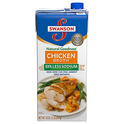 Swanson Natural Goodness Broth Chicken - 32 Oz