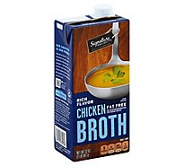 Signature Kitchens Broth Chicken - 32 Oz