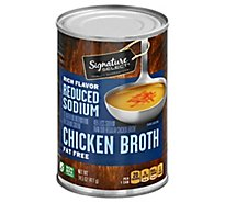 Signature SELECT Broth Chicken Reduced Sodium - 14.5 Oz