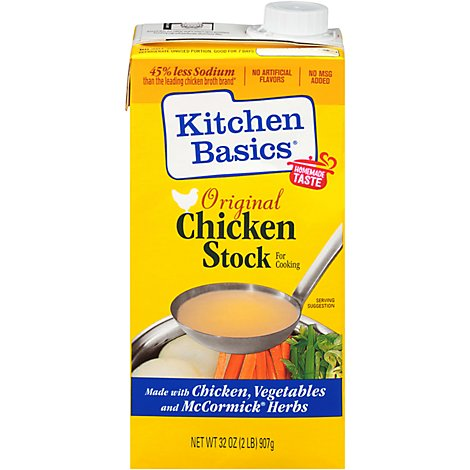 Kitchen Basics Stock Original Chicken - 32 Fl. Oz.