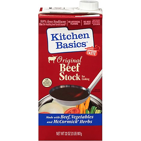 Kitchen Basics Stock Beef Original - 32 Fl. Oz.